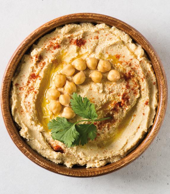 Hummus Olivia Garden restaurante mediterráneo Barcelona