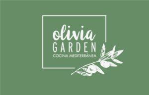 Tarjetas Olivia Garden restaurante mediterráneo Barcelona